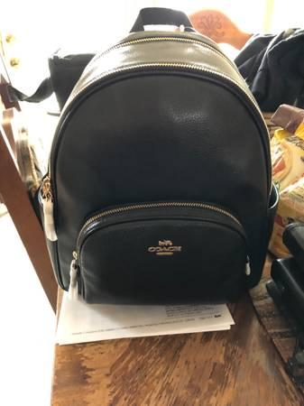 Photo Brand New Coach Backpack, never used - $200 (Warren)