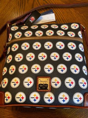 Photo Dooney and Bourke Pittsburgh Steelers Crossbody Purse - $125 (New Castle)