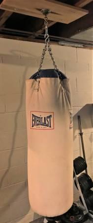 Photo Everlast Heavy Canvas Punching Bag - $145 (Boardman)