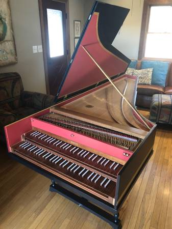 Photo French Double Harpsichord - $9,500 (Warren)