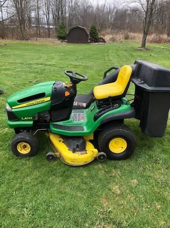 Photo John Deere Lawn Tractor-LA145 - $1,000 (New Wilmington, PA)