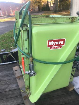 Photo Myers 3 Point Hitch Boom Sprayer - $650 (North Lima OH)
