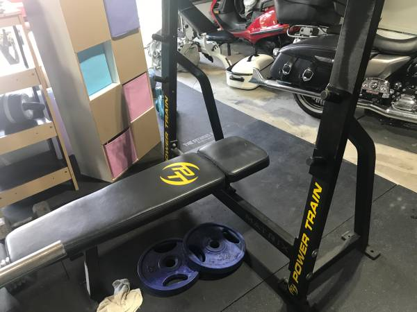 Photo Olympic bench press - $400 (Youngstown)