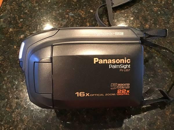 Photo Panasonic Palmcorder - $65 (Canonsburg)