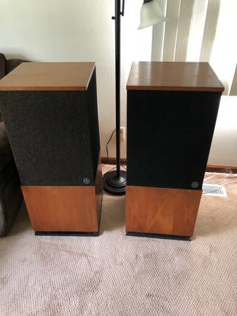 Photo RTR 280DR speakers - $500 (Howland)