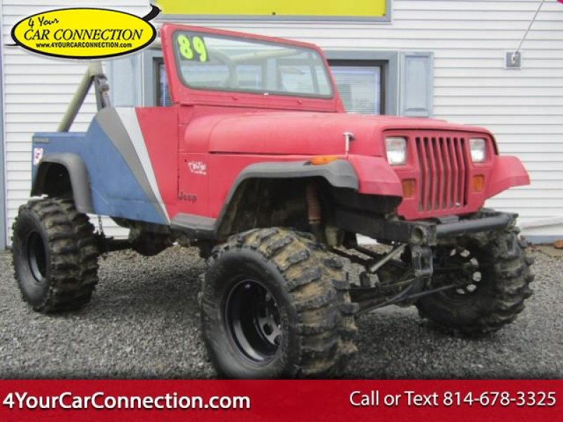 Photo Used 1989 Jeep Wrangler S for sale