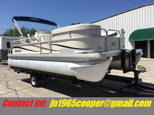 Photo ()....Used 2006 PONTOON Godfrey Sweetwater 2186RE_Absolutely Flawle - $2,400