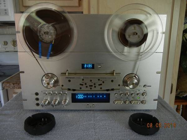 Photo Vintage Pioneer RT-909 Open Reel to Reel Tape Deck - $780 (Near Steubenville OH)
