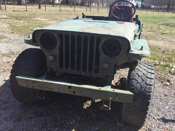 Photo Willys Jeep w Military Trailer - $3750 (Lowellville)