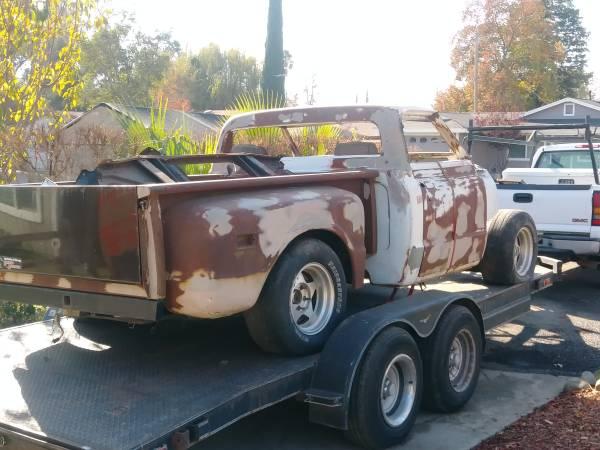 Photo 1971 c10 stepside parts truck...detroit locker - $800 (Sheridan)