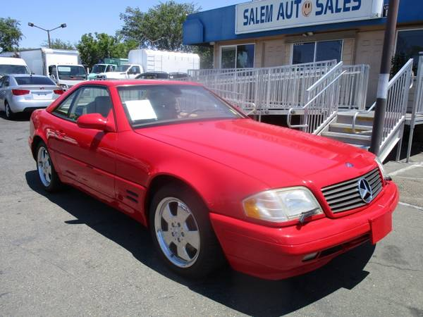 Photo 2000 Mercedes-Benz SL-500 HARD TOP CONVERTIBLE - LOW MILEAGE - NICE CLEAN CA - $8,488 (2000 Mercedes-Benz SL-500 HARD TOP CONVERTIBL)