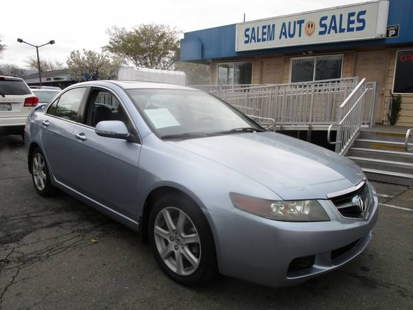 Photo 2004 Acura TSX - BLUETOOTH - SUNROOF - LEATHER AND HEATED SEATS - RECENTLY S - $2988 (2004 Acura TSX - BLUETOOTH - SUNROOF - )