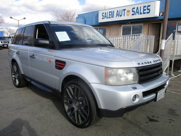 Photo 2008 Land Rover Range Rover Sport HSE - 4WD - BRAND NEW TIRES - NAVI - 2 DVD - $9988 (2008 Land Rover Range Rover Sport HSE -)