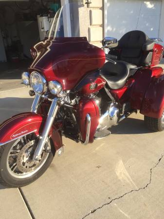 Photo 2009 Harley-Davidson Tri-Glide Ultra Classic - $17,000 (Yuba City)