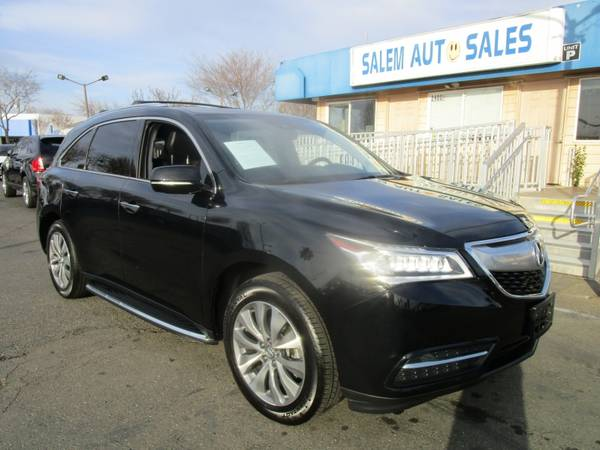 Photo 2016 Acura MDX TECH PACKAGE - NAVI - REAR CAMERA - THIRD ROW SEAT - BLUETOOT - $22488 (2016 Acura MDX TECH PACKAGE - NAVI - RE)