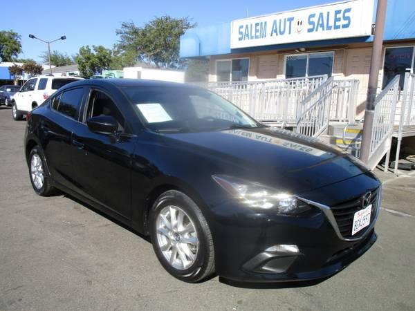 Photo 2016 Mazda Mazda3 - REAR CAMERA - BLIND SPOT ASSIST - GAS SAVER - GREAT COMM - $11,988 (2016 Mazda Mazda3 - REAR CAMERA - BLIND)