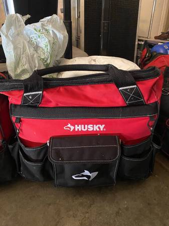 Photo 3 Husky Tool Bags For Sale (2 Roller 1 Carry) - $95 (Yuba City)