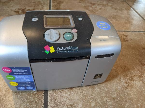 Photo Epson picturemate personal photolab - $40 (Yuba City)