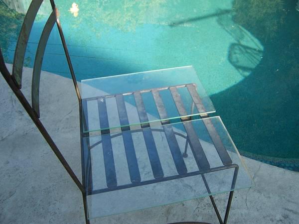 Photo Glass shelves, glass shelving, art glass.... - $1 (Carmichael)