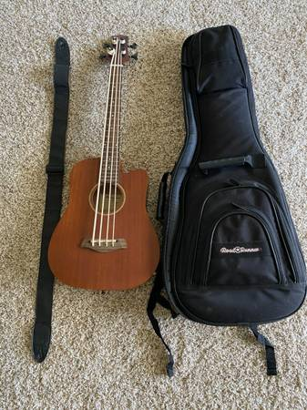 Photo Gold Tone Micro Scale AcousticElectric Bass - $200 (Yuba City)
