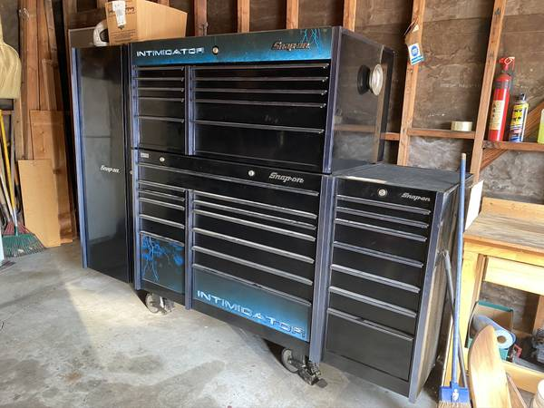 Photo Intimidator Dale Earnhardt Sr. deep drawer Toolbox wtools - $18,500 (Carmichael)