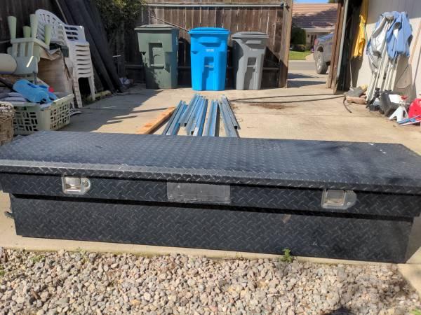 Photo Kobalt tool box for full size truck. - $200 (Yuba City)