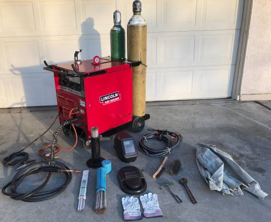 Lincoln Idealarc Sp 200 Mig Welder And Argon Tanks Works Good 1925 Yuba City Tools For Sale Yuba Ca Shoppok
