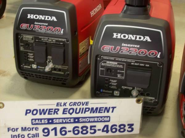 Photo New Honda eu2200i and eu3000i generators (10288 iron rock way)