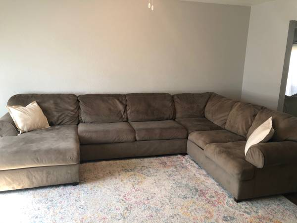 Photo Sectional Couch - $400
