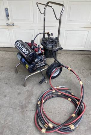 Photo Titan CAPSpray CS10,000 HVLP Fine Finish Paint Sprayer and Hose (Runs) - $1125 (Yuba City)