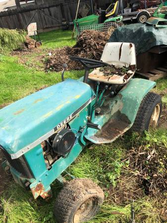 Photo Vintage John Deere 140 patio series - $1,000 (Yuba City)