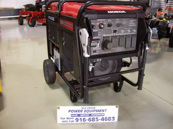 Photo new Honda eb10000 Co minder generator (10288 iron rock way)