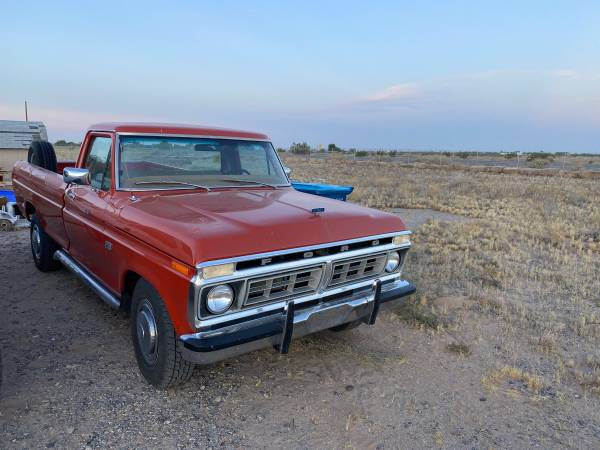Photo 1976 Ford F-250 for sale - $11000 (Yuma)