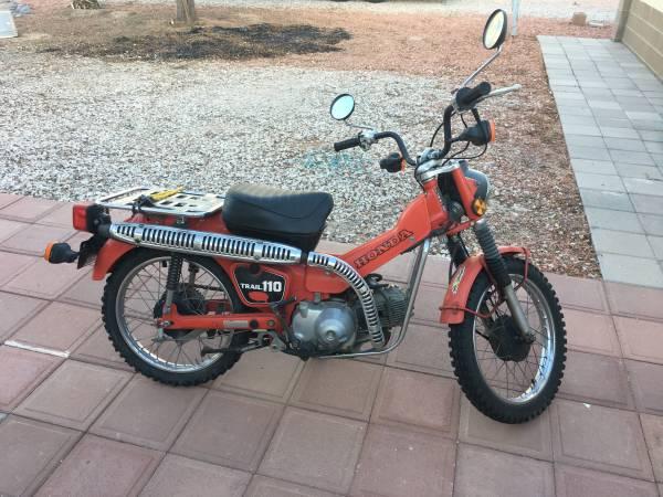 Photo 1981 Honda 110 - $1,900 (Wellton)