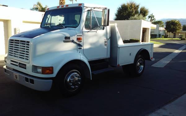 Photo 1998 international 4700 lo profile RV Tow Truck - $14,900 (Palm Springs)