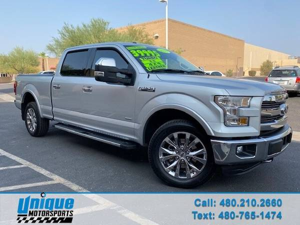 Photo 1 OWNER CLEAN 2015 FORD F-150 SUPERCREW LARIAT FX4 OFF-ROAD 4X4 SB T - $38,995 (DELIVERED RIGHT TO YOU NO OBLIGATION)