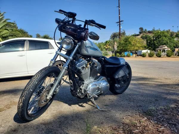 Photo 2004 Harley Sportster 883 bobber - $5,300 (Poway)