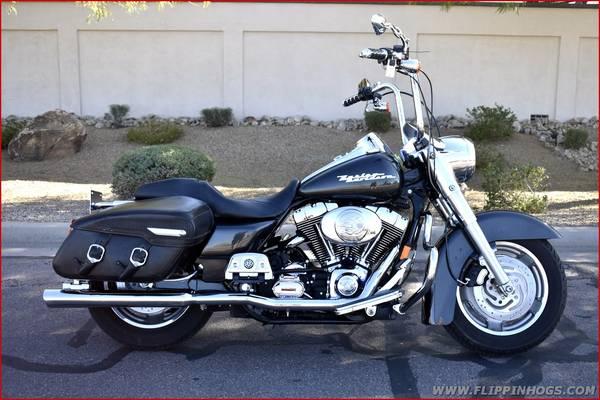 Photo 2005 Harley Davidson FLHRS Road King Custom, 12700 Miles Ape Hangers - $7,495 (Flippin39 Hogs LLC - Apache Junction)