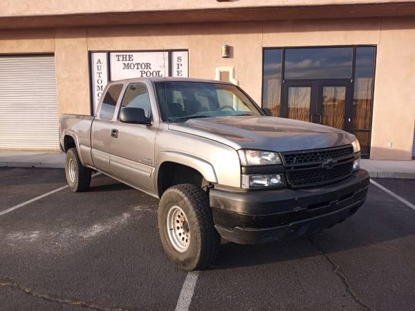 Photo 2007 Chevy Silverado 2500HD Classic 4x4 LBZ Duramax Truck - $14,999 (Yuma Foothills)