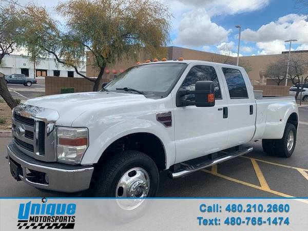 Photo 2008 FORD F350 SUPERDUTY LARIAT CREW CAB  TURBO DIESEL LONG BED E - $21995