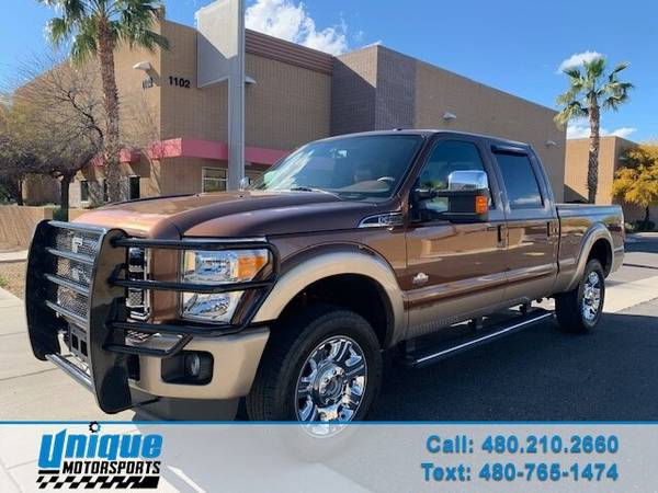 Photo 2012 FORD F250 LARIAT KING RANCH CREW CAB 4X4 6.7 POWER STROKE TURBO - $35995