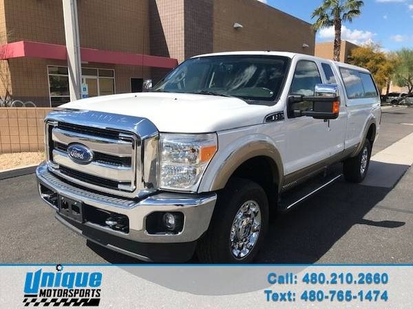 Photo 2014 FORD F-350 SUPERDUTY LARIAT EXT CAB.  1 OWNER 18K MILES EASY - $34399