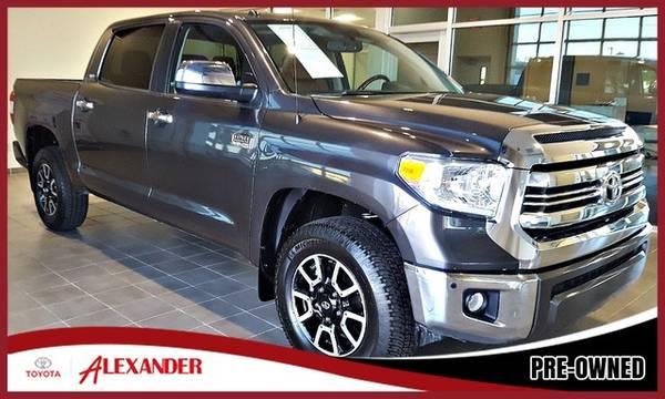 Photo 2016 Toyota Tundra 4WD Truck - Call 844-850-0271 - $35440 (2016 Toyota Tundra 4WD Truck Alexander Toyota)