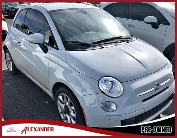 Photo 2017 Fiat 500 - Call 844-850-0271 - $10480 (2017 Fiat 500 Alexander Toyota)