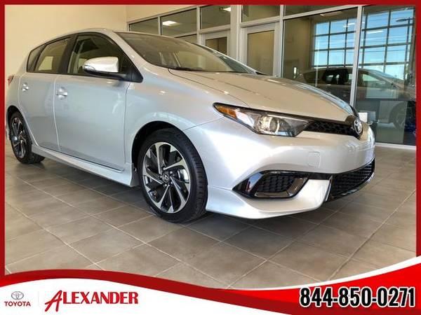 Photo 2017 Toyota Corolla iM - Call 844-850-0271 - $16987 (2017 Toyota Corolla iM Alexander Toyota)