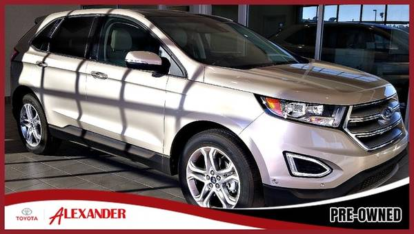 Photo 2018 Ford Edge - - $25,987 (2018 Ford Edge Alexander Toyota)