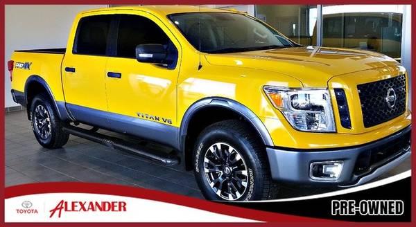 Photo 2018 Nissan Titan - Call 844-850-0271 - $34987 (2018 Nissan Titan Alexander Toyota)