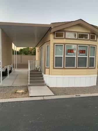 Photo 2020 CAVCO PARK MODEL (YUMA Del Pueblo RV Park 55 Years Old)