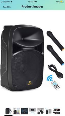 Photo AKUSTIK 15-Inch 2-Way Portable PA Speaker System - $140 (Yuma)