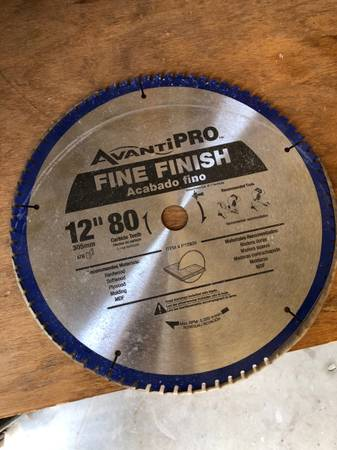 Photo Avanti PRO - Fine Finish Saw Blade - $20 (Sun Lakes)